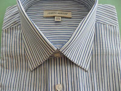 nwt~JOSEPH ABBOUD~Mens Sz 15.5 34/35~STREAM Dress Shirt