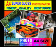 Super Glossy Finest Quality Photo Paper A4 100 sheets-180 GSM