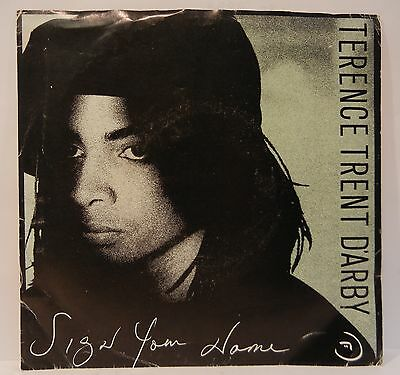 TERENCE TRENT D'ARBY SIGN YOUR NAME GREASY CHICKEN 45RPM 1987 SYNTH-POP