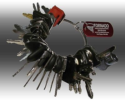 39 Keys Heavy Equipment Construction Ignition Key Set