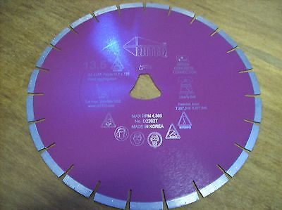 13 12 Purple Liberty Bell Blade For Soff Cut Saw - Early Entry Concrete Blade