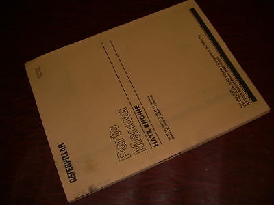 CATERPILLAR CAT HATZ ENGINE 13 17 SERIES  PARTS MANUAL S/N 2M31 3M 4M PAVER COMP
