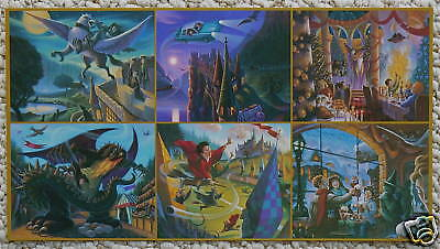 HARRY POTTER LARGE PROMO CARD MARY GRANDPRE QUIDDITCH
