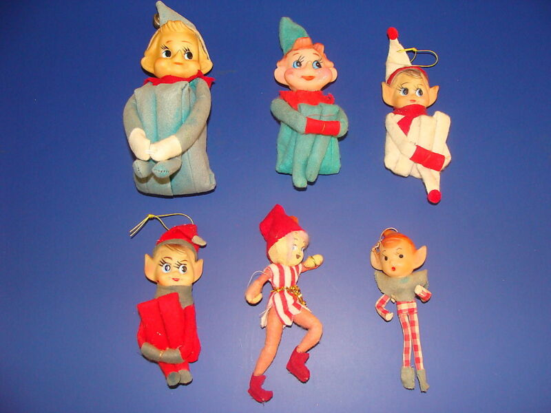 (Lot of 6) Vintage Elfs Knee Huggers Japan