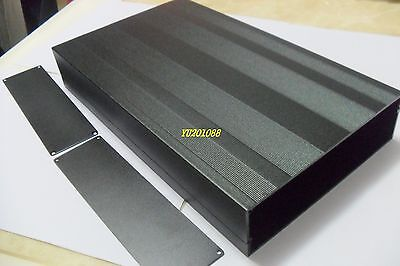Diy Metal Aluminum Project Enclosure Box Electronic Case Blackbig 300x178x50mm