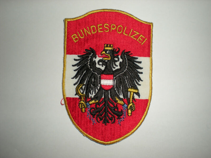 AUSTRIAN BUNDESPOLIZEI POLICE PATCH