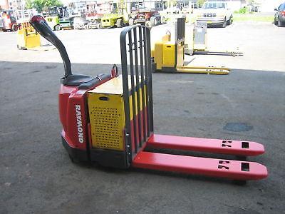 Raymond Forklift 2006 Model 830 Jack 6000lb Cap. Wbattery Charger 48 Fork