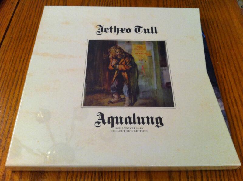 JETHRO TULL AQUALUNG 40th ANNIVERSARY EDITION 2 CD+LP+DVD+BLU-RAY BOX SET SEALED
