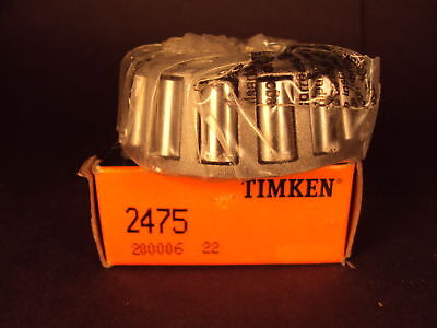 Timken 2475 Tapered Roller Bearing Single Cone