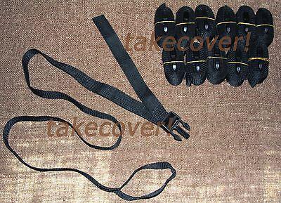 12x BOAT COVER TIE DOWN STRAP KIT 1