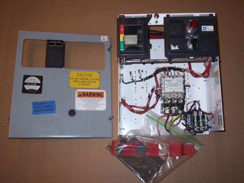 CUTLER HAMMER 2100 SIZE 1 MOTOR STARTER 60 AMP BREAKER FEEDER MCC MCCB BUCKET