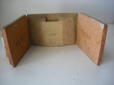 (Little Wenlock Replacement Firebrick Fire LH & RH BRICK ONLY CLAY)