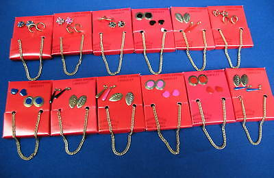 WHOLESALE LOT OF BRACELET AND 2 PRS. OF EARRINGS SETS