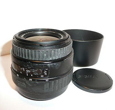 SIGMA 35-80mm f4 - 5.6 AF ZOOM FITS SONY DIGITAL SLRs & MINOLTA AF FILM SLRs