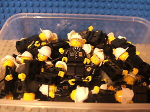 Lego Mini Fig Figure  x1 Fireman fire person brand new never played with