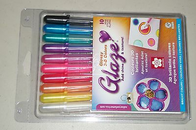 Sakura Glaze 10 3-D Ink Pens](Sakura Glaze Pens)