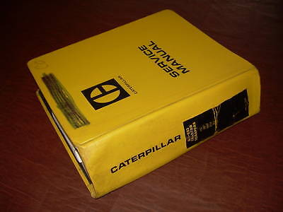 Caterpillar Cat 631 633 Scraper Tractor Service Manual