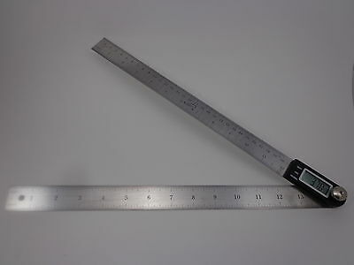 Igaging 14 Electronic Digital Protractor Goniometer Angle Finder Miter Gauge
