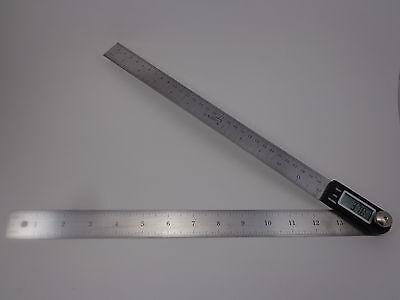 Igaging 14 Electronic Digital Protractor Goniometer Angle Finder Miter Gauge