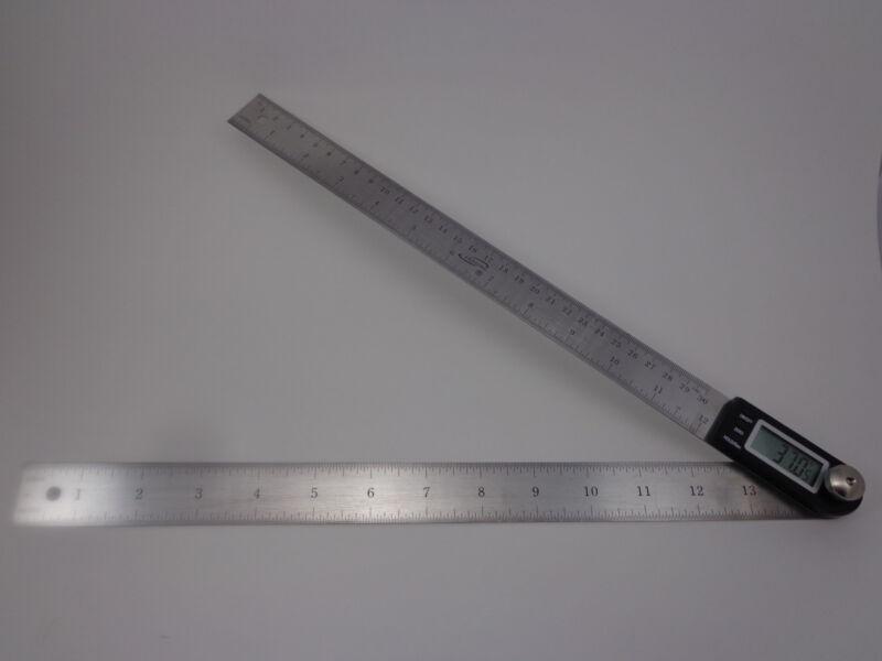 """iGaging 14"""" Electronic Digital Protractor Goniometer Angle Finder Miter Gauge"""