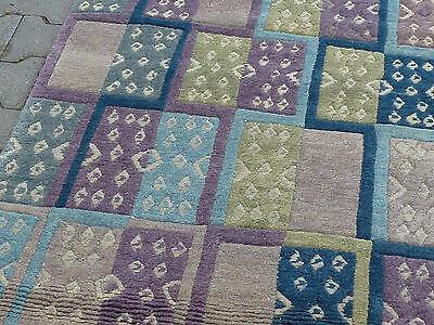 Exklusiver Design-Teppich aus Nepal 292 x 83 cm NEU & TOP