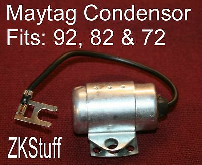 Maytag Gas Engine Motor Model 92 82 72 Condenser Single Twin Spark Coil Wire