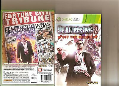 DEAD RISING 2 OFF THE RECORD XBOX 360 / X BOX 360 RATED 18 (Dead Rising 2 Off The Record Rating)