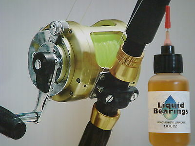 Liquid Bearings, BEST 100%-synthetic oil for Penn saltwater reels, READ