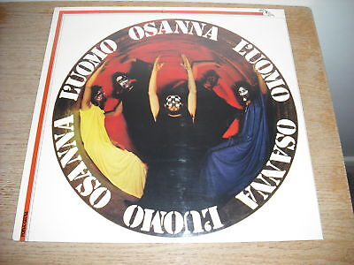 OSANNA L`UOMO italian prog psych SEALED LP banco cd pfm formula 3 goblin ibis