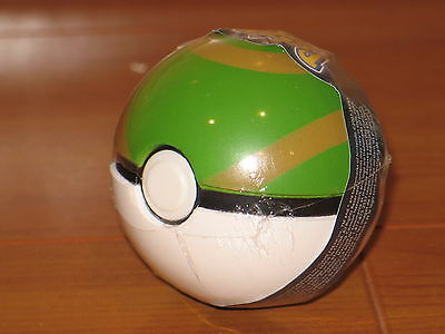 NEST Green Tan Poke Ball Jakks B&W Black White Soft Foam Pokemon PokeBall Go NEW