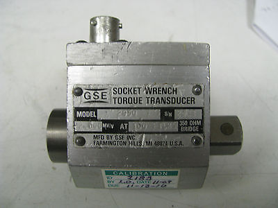 Gse Socket Wrench Torque Transducer 100 Ft Lbs - Gse14