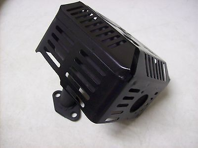 Wacker Wp1550a Plate Compactor Tamper Muffler For Honda 5.5hp Gx160 Aftermarket
