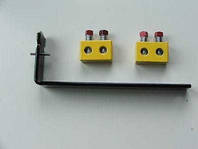 Pair Yellow Torsion Spring Repair Block & Spreader Tool Kit OHD Garage Door -