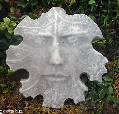 New Cement Plaster (Cement plaster leaf face stone plastic mold see 5500 molds in my store )