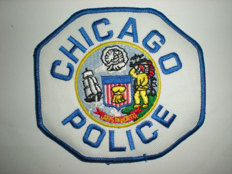 CHICAGO, ILLINOIS POLICE DEPARTMENT PATCH - BLUE
