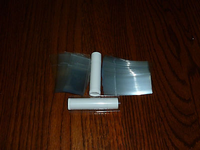 500 clear SHRINK WRAP BANDS for lip balm (Chapstick) tubes - safety seals