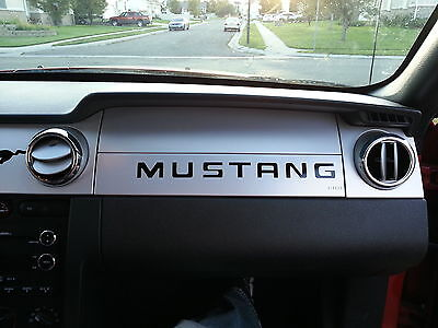 2005-2009 FORD MUSTANG LOGO DASH MUSTANG VINYL ACCENT DECAL SIGNATURE STICKER