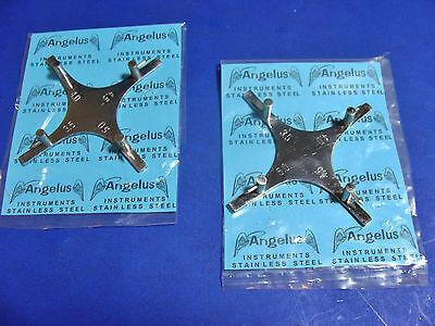 Dental Orthodontic Bracket Positioning Gauge Star Kit2 Pcs 786-397 Angelus