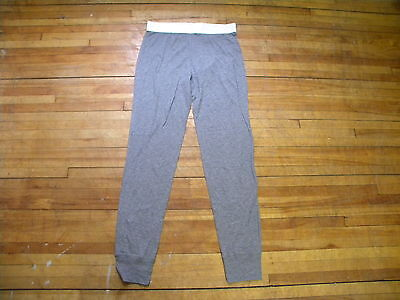 MARC BY MARC JACOBS RARE GREY LEAD LONG JOHNS UNDERWEAR