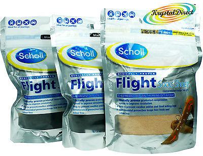 Scholl Flight Graduated Compression Socks for Air/Aeroplane/Plane - Scholl Flight Socks
