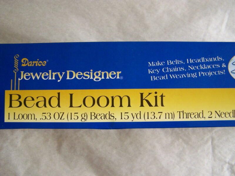 "Bead Loom Kit 12"" x 2 3/4"" x 2 3/4"" Darice"
