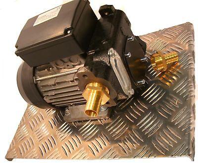 230 Volt Diesel Pumpe Set Baustellen Pumpe Bagger Radlader Raupe Minibagger Tank