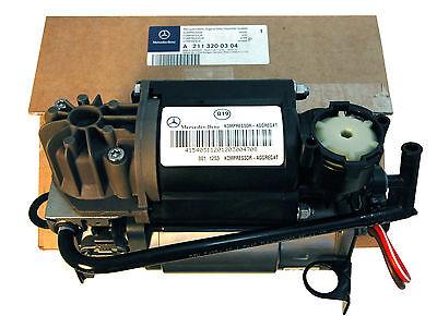 Original Orig. Mercedes Benz W220 W211 W219 Airmatic Aufhängung Kompressor Luft