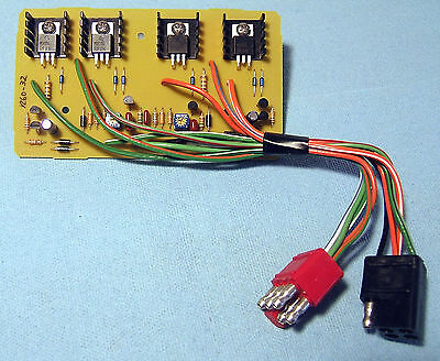 - C4) 1969 1970 1971 1972 1973 Mercury Cougar Sequencer Turn Signal Board  Ford