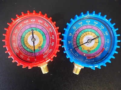 Uniweld Stylegeneric Replacement Gauges Redblue Wcovers 410a R22 R404a