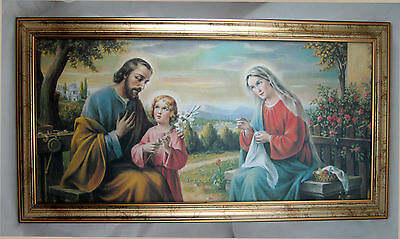 Holy Family Joseph Mary Jesus Holy Icon Icons 77x42 cm Sacra Family