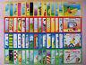 Lot 60 Children's Books Preschool Kindergarten First Grade Learn to Read Set