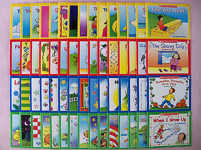 Lot 60 Children's Books Preschool Kindergarten First Grade Learn to Read Set