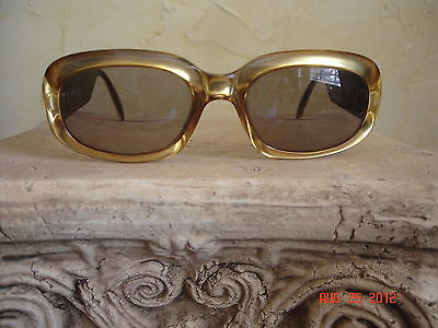 CHRISTIAN DIOR BIFOCAL GLASSES SUNGLASSES GOLD PLASTIC FRAME CD 2006 40C AUSTRIA
