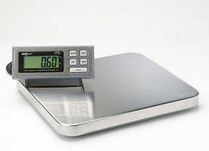 PROSHIP LARGE Digital 181Kg 400lb Heavy Duty Postal Parcel Platform Scales Weigh